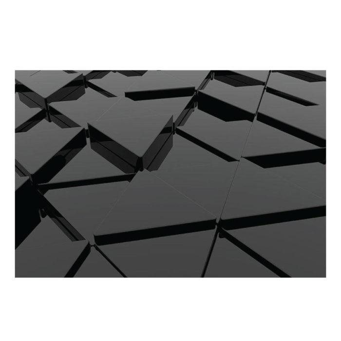 Acrylglasbild 3D Minimalistisch schwarz Modern im Querformat