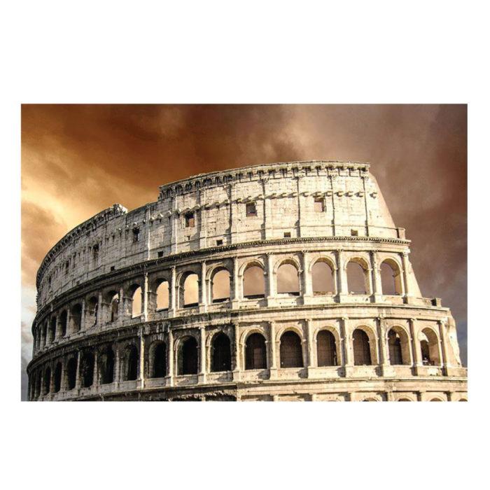 Acrylglasbild das Kolosseum in Rom Italien Motiv