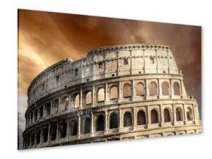 Das Kolosseum in Rom als Acrylglasbilder für ein italienisches Restaurant