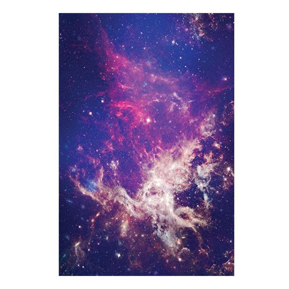 Aluminiumbild Lila Universum HD Motiv Bild im Hochformat drucken
