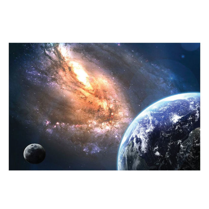 Leinwandbild Universum Bild im Querformat
