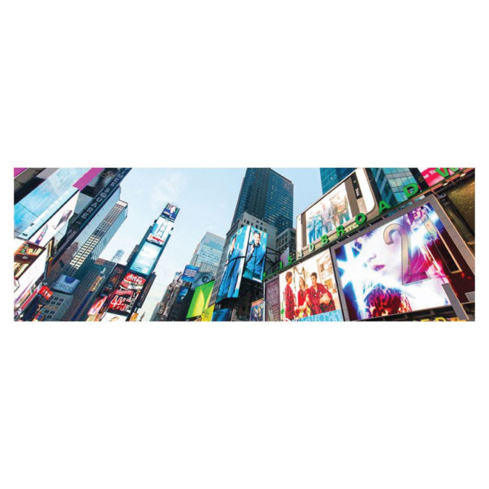 Poster New York City Broadway Bild im Panorama Format