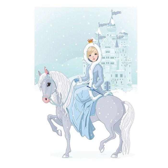 Prinzessin Kinderzimmer Poster im Hochformat drucken