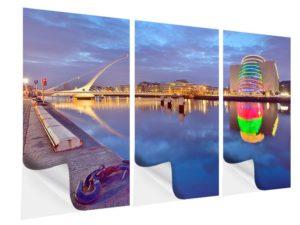 Empfehlenswertes 3D Wandtattoo Skyline Motiv für das Wohnzimmer