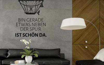 Wandtattoo Wohnzimmer modern – Moderne Wandtattoos für das Wohnzimmer