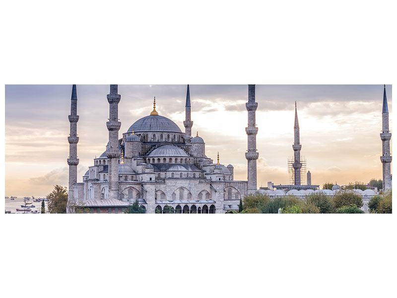 Beste Leinwandbild Grau Panorama Istanbul
