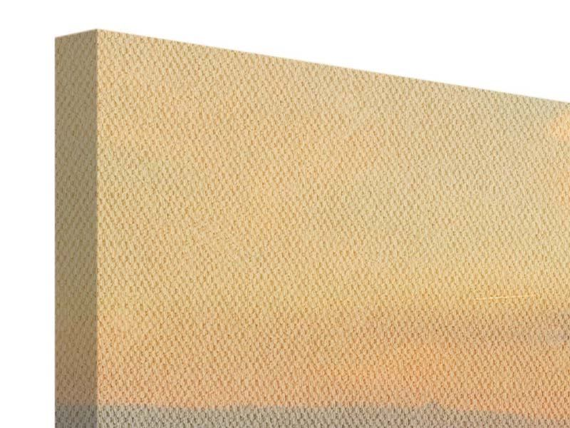 Leinwandbild Orange