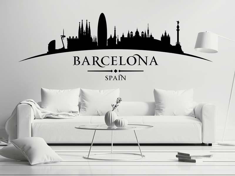 Wandtattoo Barcelona günstig