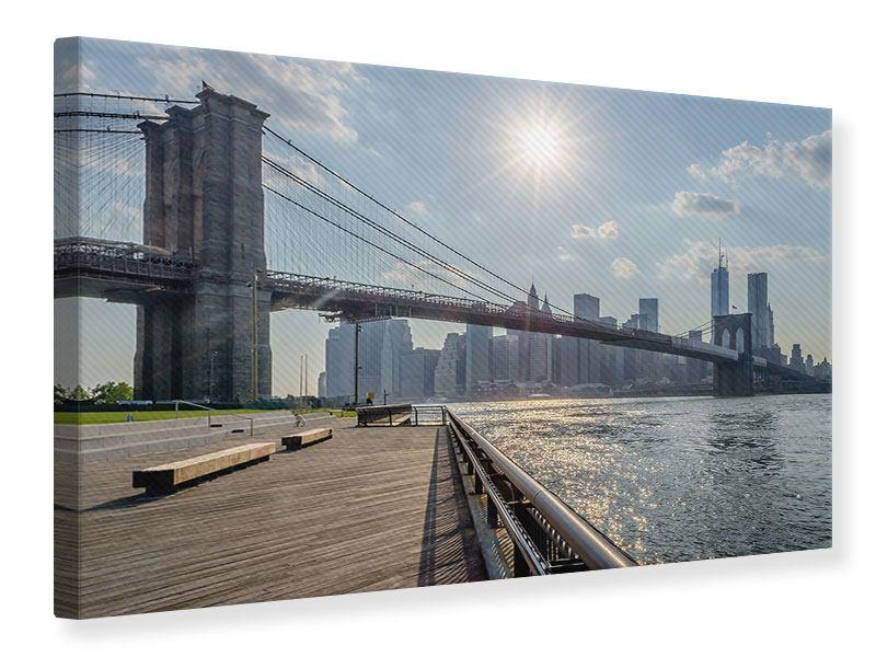 Leinwandbild Brooklyn Bridge