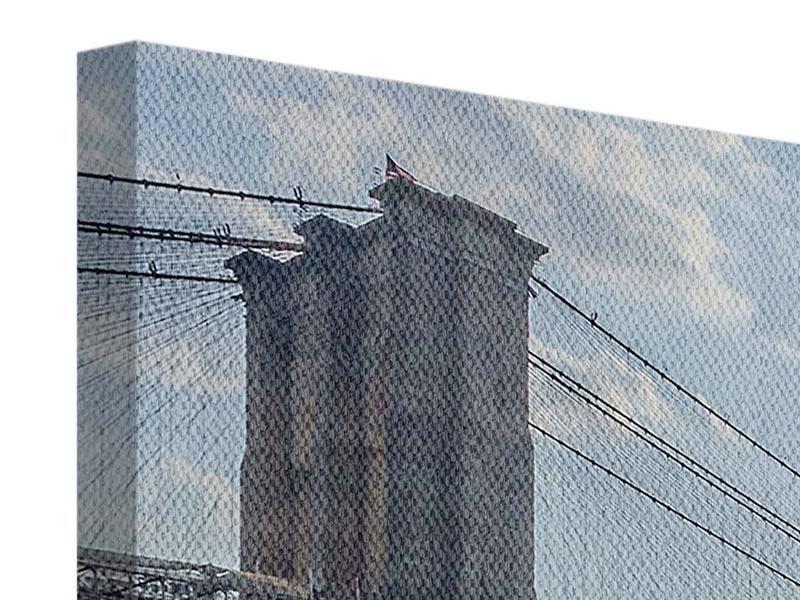 Leinwandbild Querformat Brooklyn Bridge