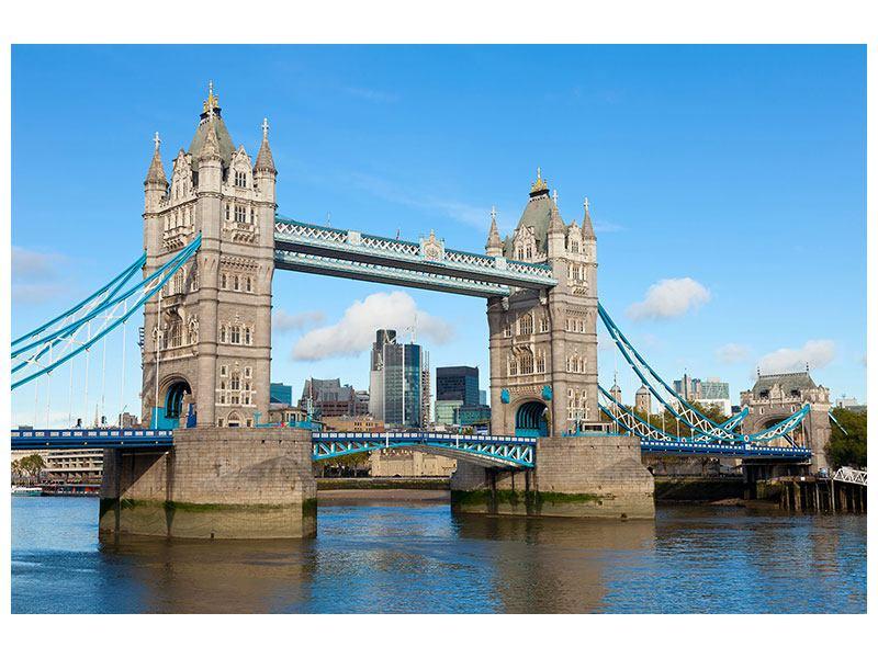 Leinwandbild Querformat die Tower Bridge in London