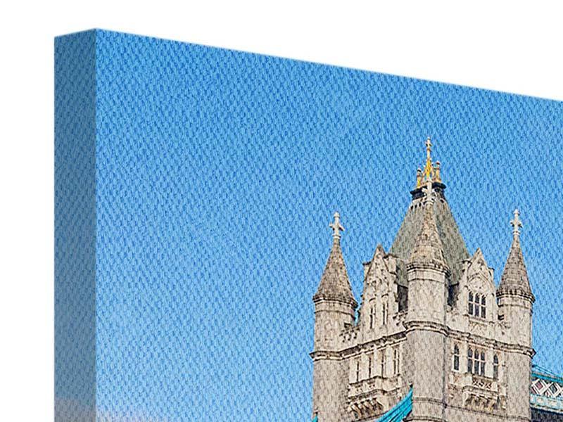 Leinwandbild die Tower Bridge in London bei Tag