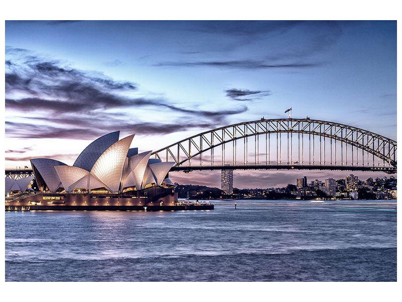Skyline Leinwandbild Sydney Opera House