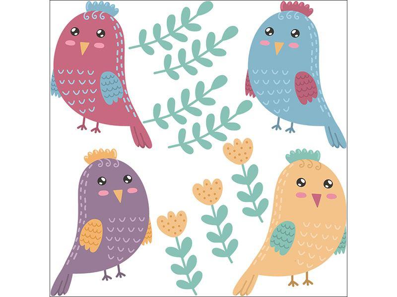 Wandtattoo Bilder Vögel