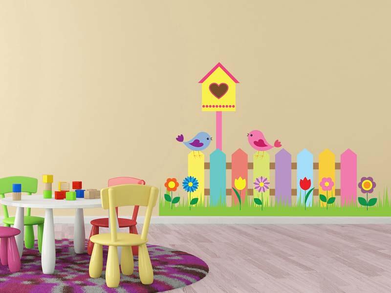 Wandtattoo Garten Kinderzimmer