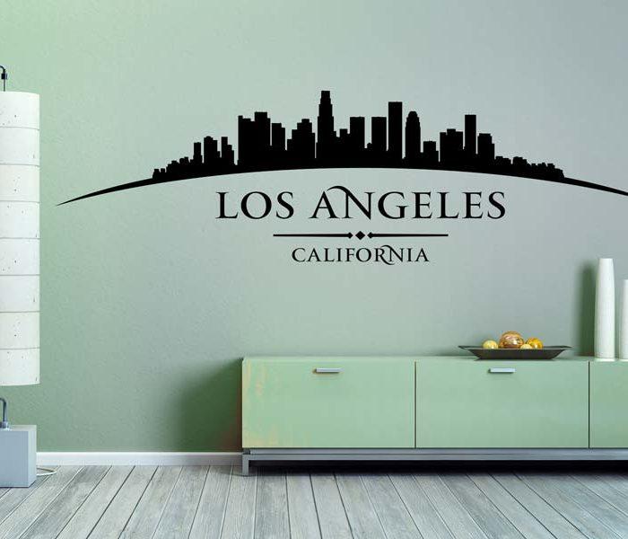 Wandtattoo Los Angeles Kalifornien wunderschön