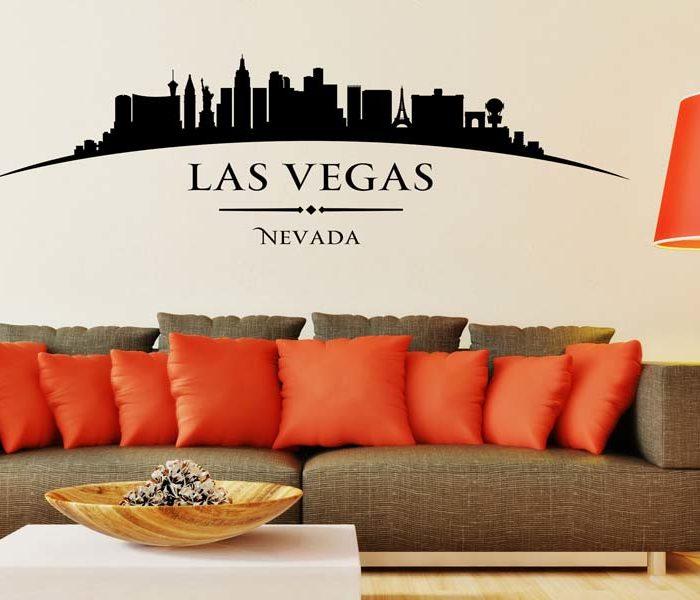 Wandtattoo Skyline Las Vegas günstig