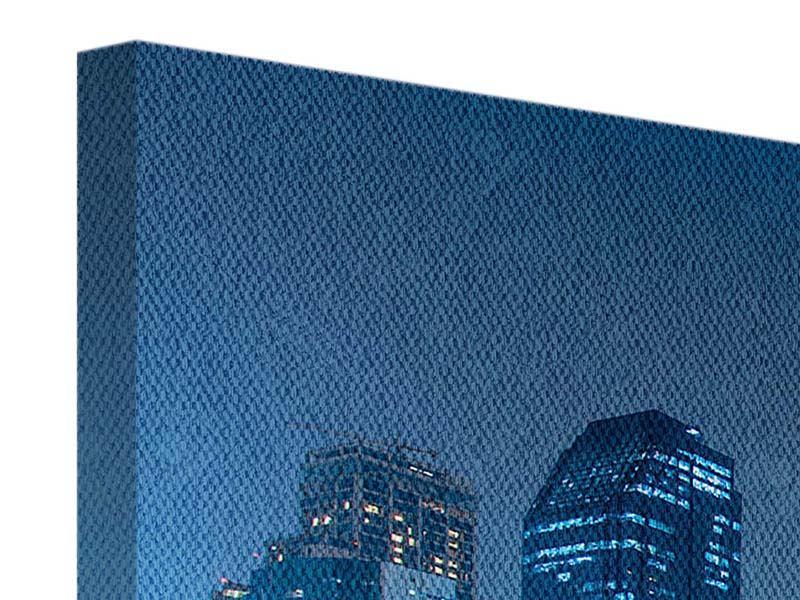 Leinwandbild Blau Banngkok