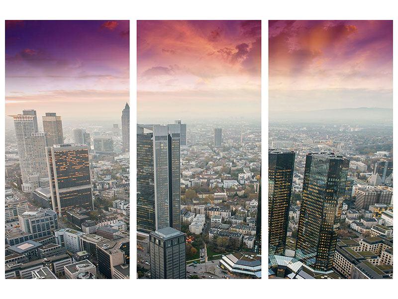 Leinwandbild Penthouse New York 3-teilig