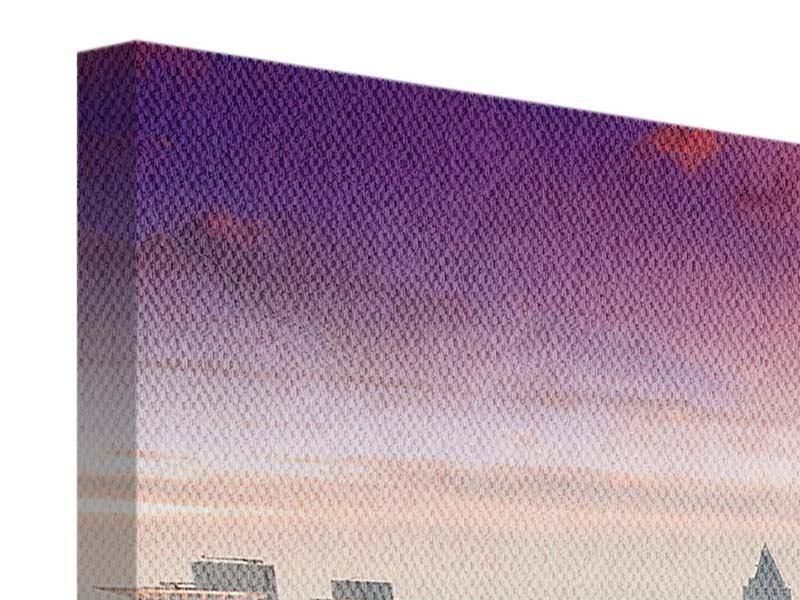 Leinwandbild Penthouse in New-York 3-teilig