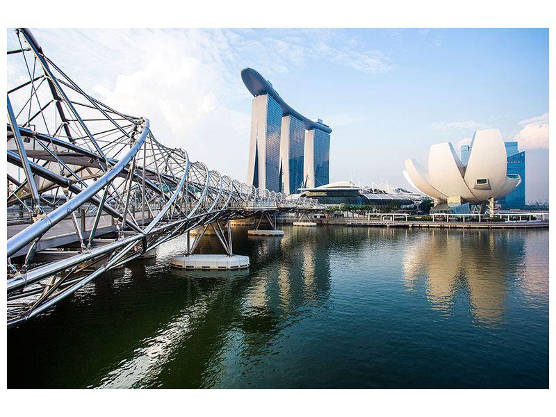 Leinwandbild Singapur Querformat