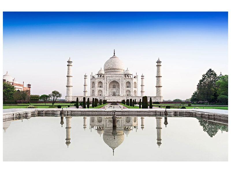 Leinwandbild Taj Mahal querformat